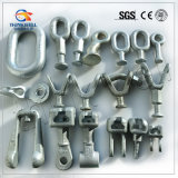 Forged Steel Galvanized Pole Line Fitting Transmission Line Hardware