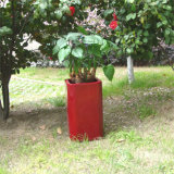 Fo-206 Outdoor Square Fiber Glass Flower Planter