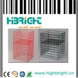 Supermarket/Store Steel Wire Promotion Wire Cage