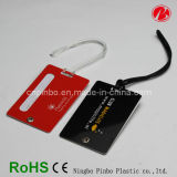 High Quality Silicone/PVC/Rubber/Hard Plastic Luggage Tag (PT0904)
