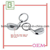 Fashion Golf Stick Key Chain with Silkscreen Logo