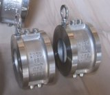 Wafer Type Dual Plate Check Valve Ss304 Pn16