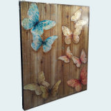 Handmade Butterfly Oil Painting for Home Decor (LH-256000)