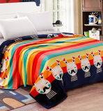 Super Soft Printed Flannel Blanket Sr-B170219-57 Printed Coral Fleece Blanket