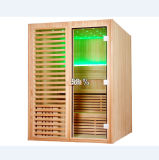 Symmetrical Square 3 People Use Dry Wooden Sauna Room (M-6038)