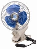 DC 12V 6 Inch Oscillating Car Fan with Gimbal Heavy-Duty Clip