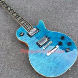 Pango Lp Standard Electric Guitar with One Piece Body &Neck, Quilted Maple Top (PLP-035)