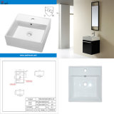 Cupc Small Size Square Ceramic Bathroom Sink (SN109-019)
