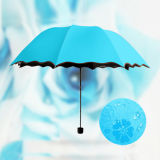 Magic Water Met Flower Umbrella, Anti-Sun Umbrella