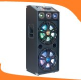 12 Inch Dual Subwoofer Active Trolley Speaker for Karaoke E24