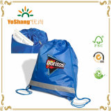 Nylon Portable Waterproof Travel Shoe Printing Drawstring Bags