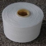 Raw White 100% Polyester Yarn