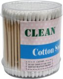 OEM Medical Sterile Wooden Stick Cotton Swab/Cotton Applicator