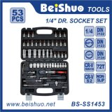 53PC 1/4′′ Dr. Socket Set