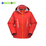 Red Color Polyester 3 in 1 Mountain Clothes