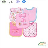Pink Color Full Series Baby Bib for Girls