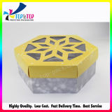 Hexagonal Paper Gift Box with Beautiful Lid