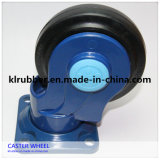 European Style Totally Mute Rubber Caster Wheel