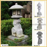 Granite Stone Lantern and Stone Lamp for Outdoor Garden (YKLS-01)