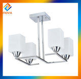 Brief Home White Color Chandelier Pendant Light for Home and Office