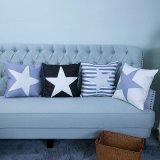 Digital Print Decorative Cushion/Pillow with Stars Geometric Pattern (MX-40)
