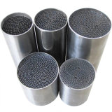 Metal Honeycomb Substrate Catalyst for Auto / Motorcycle