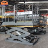 China Manufacturer Stationary Hydraulic Scissor Lift Table