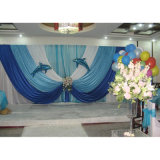 Used Pipe and Drape Backdrop Wedding Pipe Drape Wedding Stage Backdrop