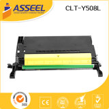Durable in Use Compatible Toner Clt-Y508L for Samsung