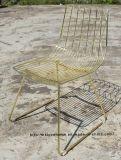 Leisure Replica Furniture Metal Dining Side Wire Restaurant Garden Chair