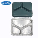Square Carry-out Aluminum Foil Container for Food
