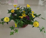 45cm Artificial Morning Glory Vine Bonsai with Hanging Basket