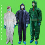 PP+PE/SMS/CPE/PE/PP Disposable Coverall, Disposable Protective Gown