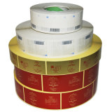 2013 Hot Selling Adhesive Paper Barcode Label (001)