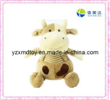 Plush Toy Sitting Cow Toy