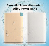 6mm-Thickness Aluminium Alloy Cover Ultra Slim Universal Power Bank