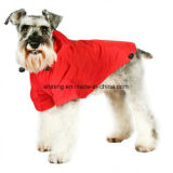 Waterproof Dog Raincoat Pet Clothes in Red