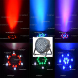 42PCS 3W RGB 3in1 Cheap Flat Plastic Stage LED PAR Can Light