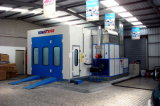 Completed Ventilation with Filter Car Spray Booth Preventing Air Polution