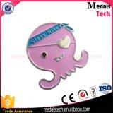 Cheap Cute Metal Cartoon Octopus Lapel Pin Badge Custom