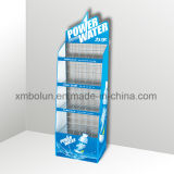 Wire Display Rack Supermarket Promotional Rack for Bread and Beverage