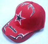 Baseball Cap with Mesh Applique - 1052