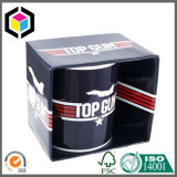 Colorful Glossy Corrugated Mug Packing Box with Holder