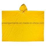 PVC Rainwear Raincoat Rainsuit Outdoor Workwear Rain Cloak Poncho (RWB08)