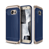 for Samsung Galaxy S7 Edge Grip Cover Navy Blue Plastic Case