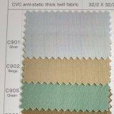 CVC Fabric for Garment in Petrol Station