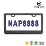 Real Pure Carbon Fiber Glossy Luxury Car License Plate Frame Top Sale in China