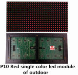 Single Color of P10 Red LED Screen Module Display