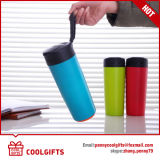 Colorful 2016 New Design 500ml Double Wall Stainless Steel Magic Suction Mug