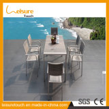 New Arrival Superior Quality Leisure Garden Aluminum Rattan Chair and Table for Glass Outdoor Patio Table Set Furniture